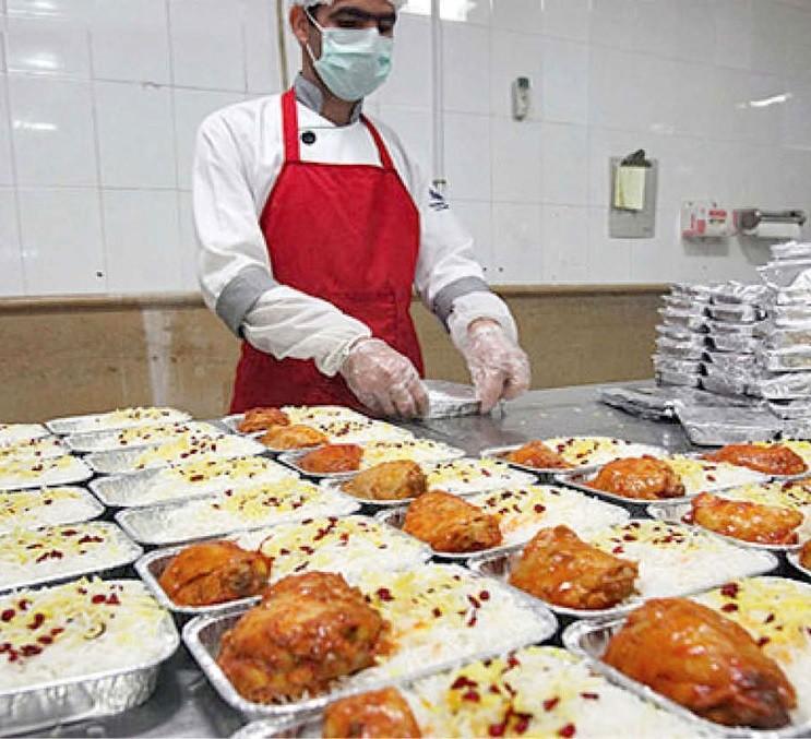غذای آماده برای سازمان ها